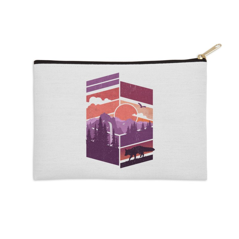 Vanishing Point Accessories Zip Pouch by The Child's Artist Shop