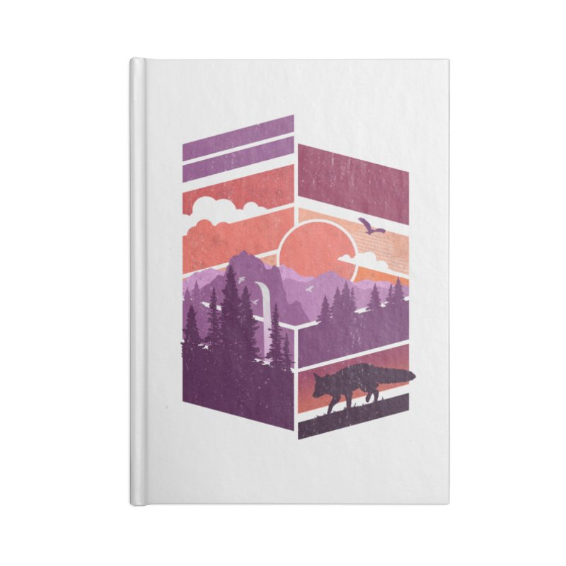 Vanishing Point Accessories Notebook by The Child's Artist Shop