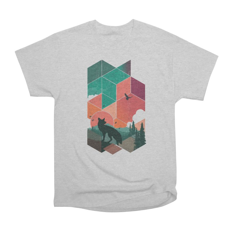 Natural Habitat Men's Heavyweight T-Shirt by The Child's Artist Shop
