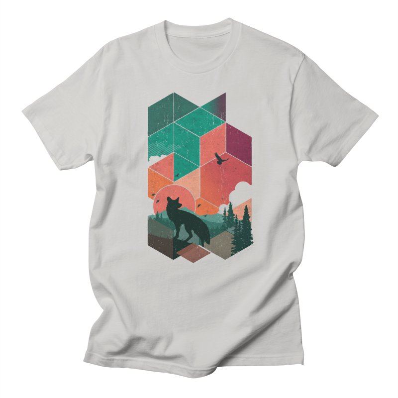 Natural Habitat Men's T-Shirt by The Child's Artist Shop