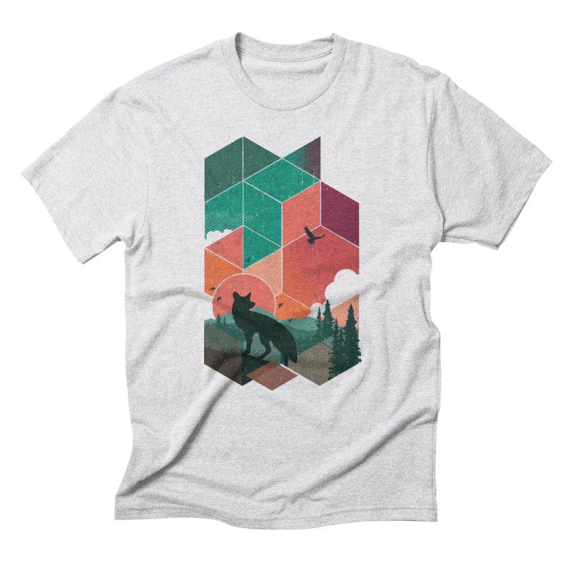 Natural Habitat Men's Triblend T-Shirt by The Child's Artist Shop