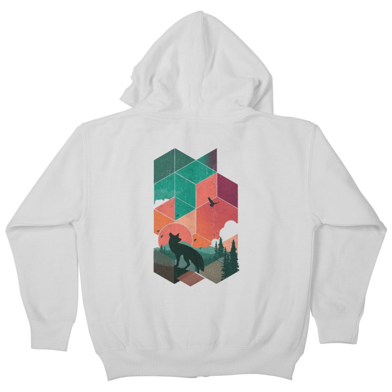 Natural Habitat Kids Zip-Up Hoody by The Child's Artist Shop