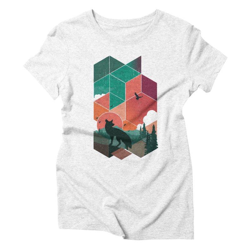 Natural Habitat Women's Triblend T-shirt by The Child's Artist Shop