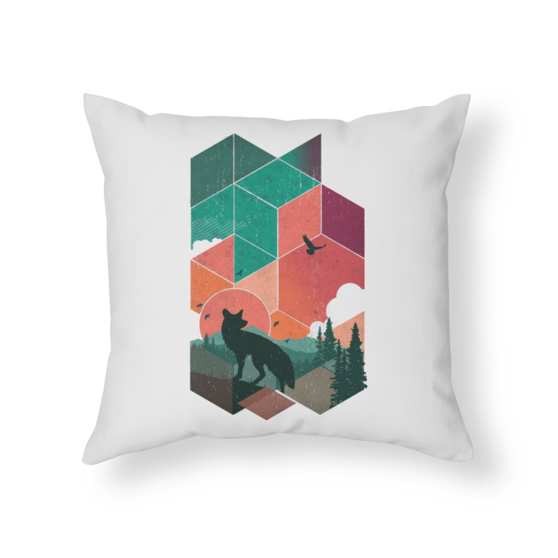 Natural Habitat Home Throw Pillow by The Child's Artist Shop