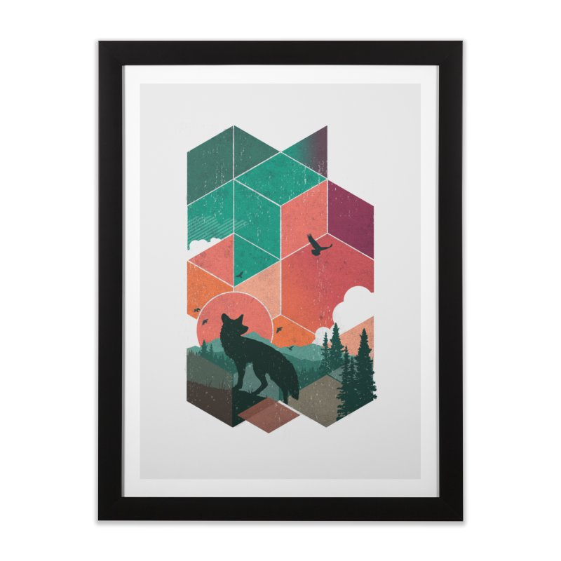 Natural Habitat Home Framed Fine Art Print by The Child's Artist Shop