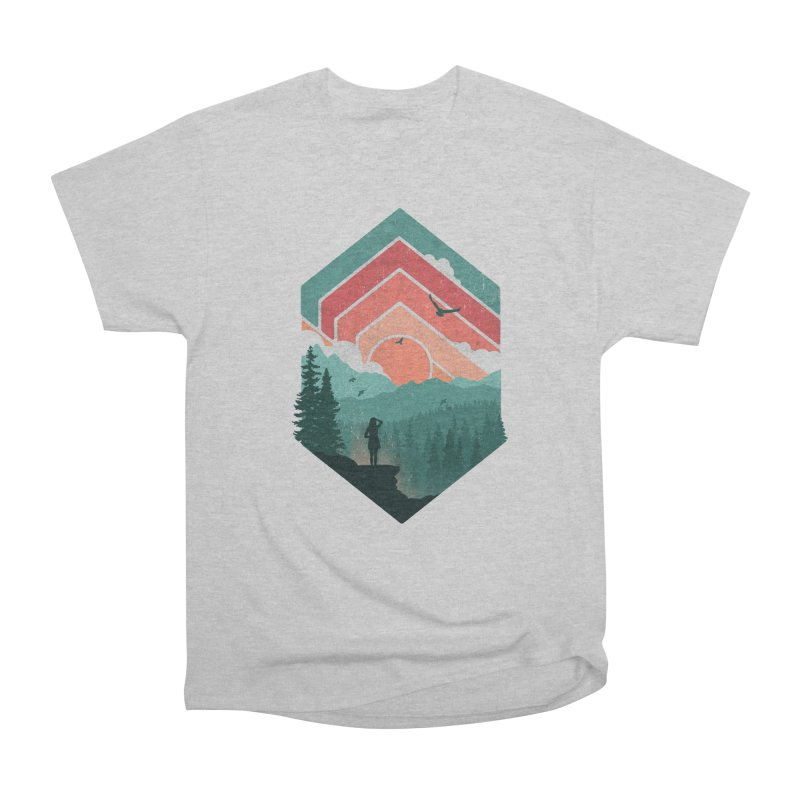 Divided Sky Men's Classic T-Shirt by The Child's Artist Shop