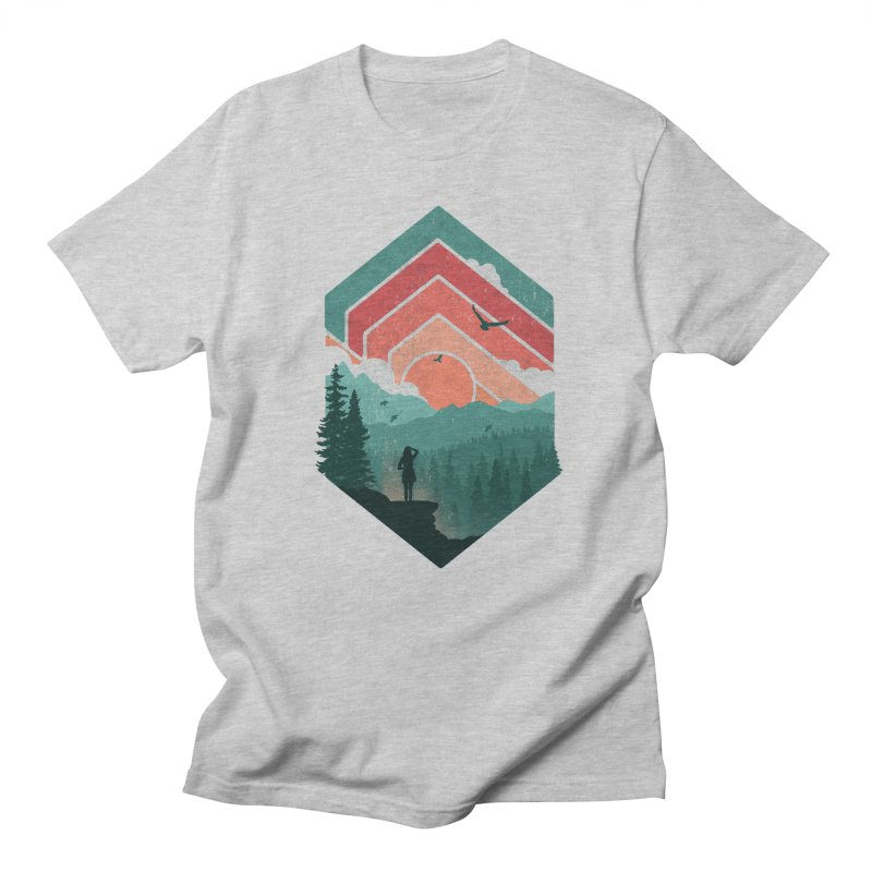 Divided Sky Women's Unisex T-Shirt by The Child's Artist Shop