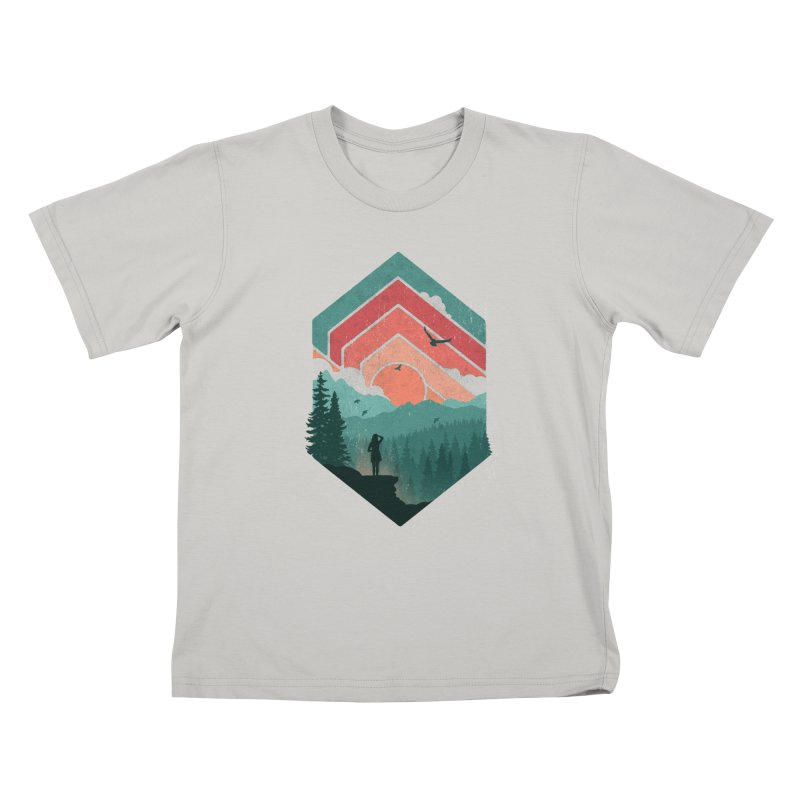 Divided Sky Kids T-shirt by The Child's Artist Shop