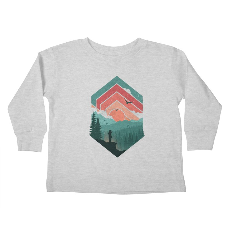 Divided Sky Kids Toddler Longsleeve T-Shirt by The Child's Artist Shop