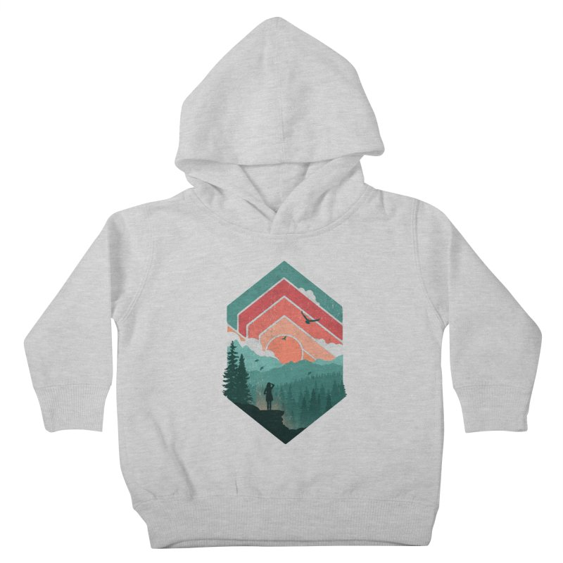 Divided Sky Kids Toddler Pullover Hoody by The Child's Artist Shop