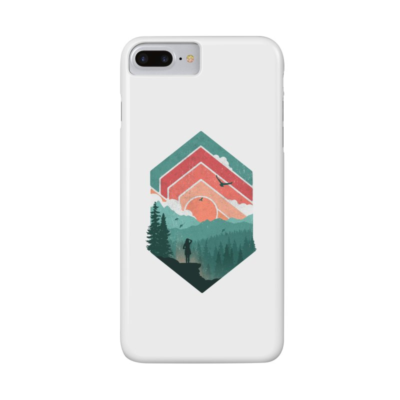 Divided Sky Accessories Phone Case by The Child's Artist Shop