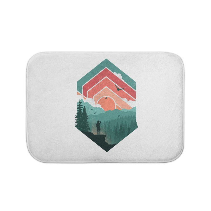 Divided Sky Home Bath Mat by The Child's Artist Shop