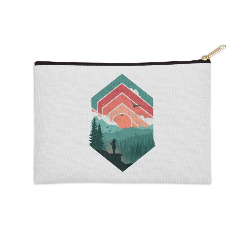 Divided Sky Accessories Zip Pouch by The Child's Artist Shop