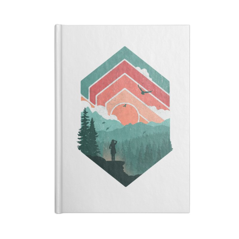Divided Sky Accessories Notebook by The Child's Artist Shop