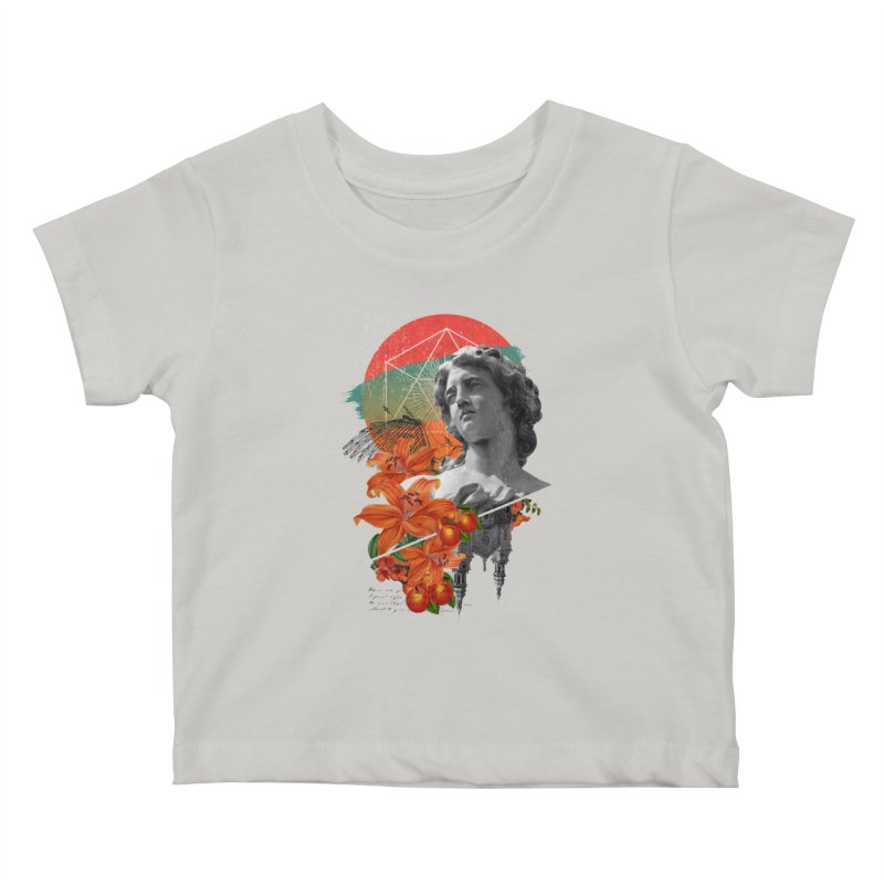 Forbidden Fruit Kids Baby T-Shirt by The Child's Artist Shop