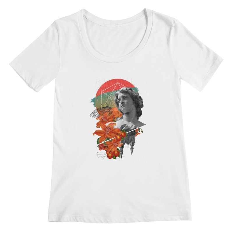 Forbidden Fruit Women's Scoopneck by The Child's Artist Shop