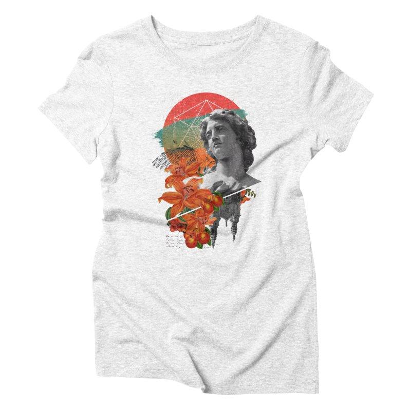Forbidden Fruit Women's Triblend T-shirt by The Child's Artist Shop
