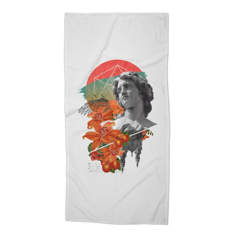 Forbidden Fruit Accessories Beach Towel by The Child's Artist Shop