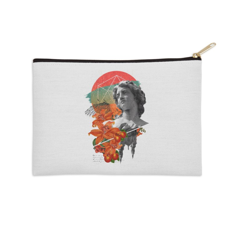 Forbidden Fruit Accessories Zip Pouch by The Child's Artist Shop