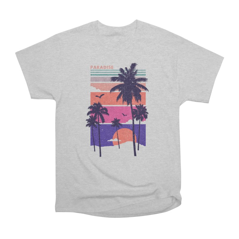 Paradise Men's Heavyweight T-Shirt by The Child's Artist Shop