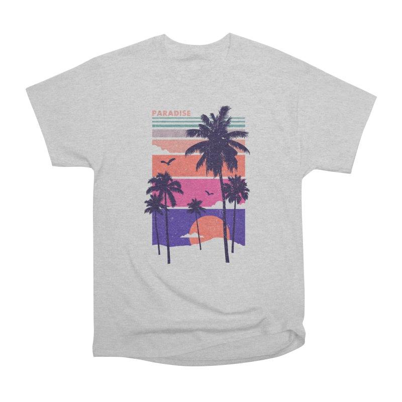Paradise Men's Classic T-Shirt by The Child's Artist Shop