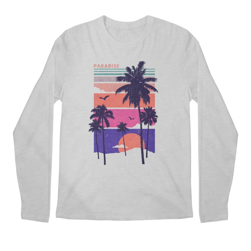 Paradise Men's Longsleeve T-Shirt by The Child's Artist Shop