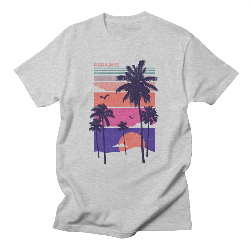 Paradise Men's T-Shirt by The Child's Artist Shop