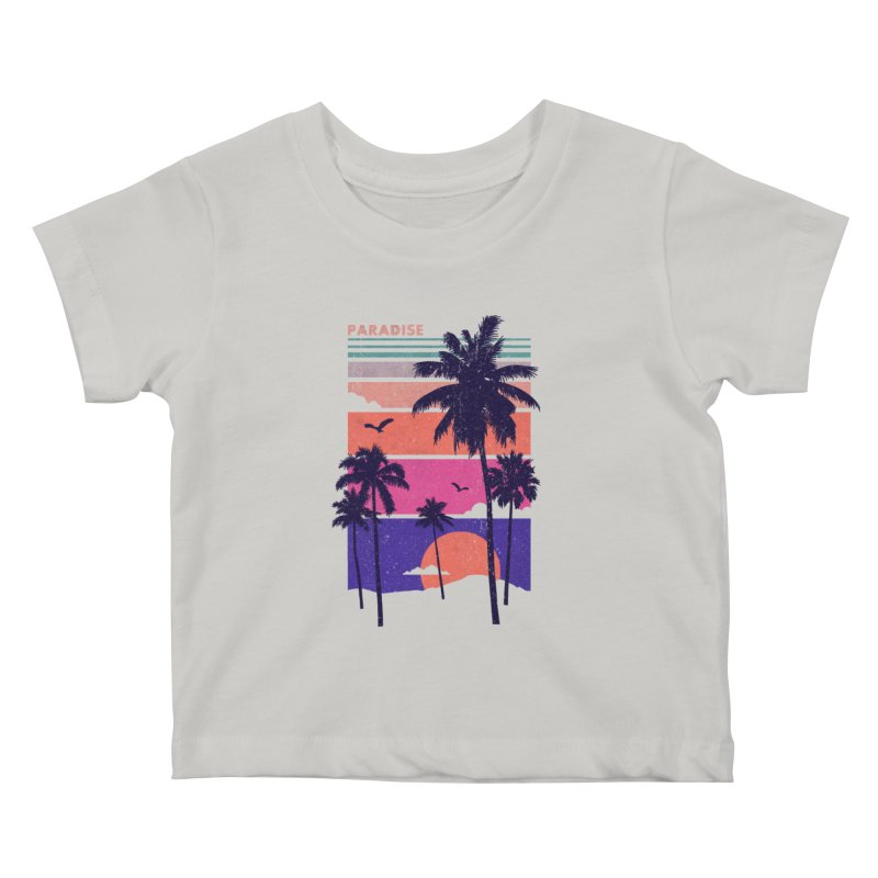 Paradise Kids Baby T-Shirt by The Child's Artist Shop