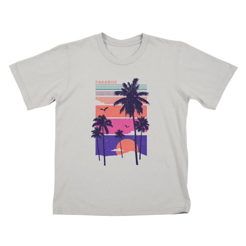 Paradise Kids T-shirt by The Child's Artist Shop