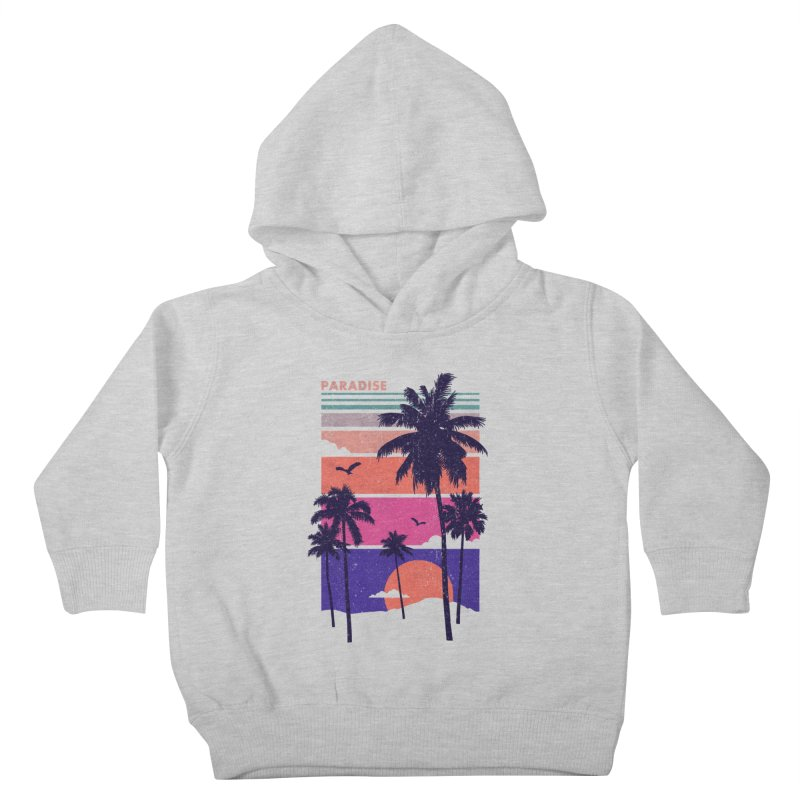 Paradise Kids Toddler Pullover Hoody by The Child's Artist Shop