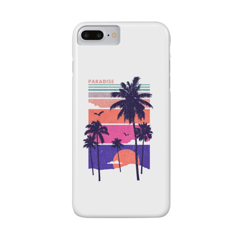 Paradise Accessories Phone Case by The Child's Artist Shop