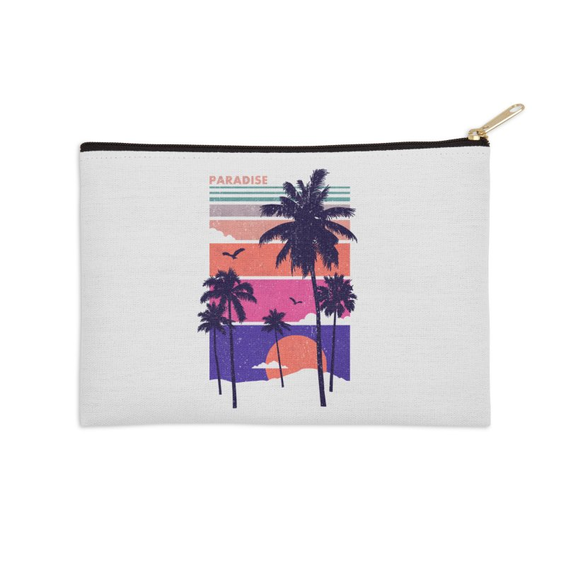 Paradise Accessories Zip Pouch by The Child's Artist Shop