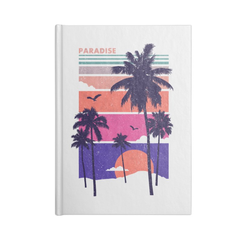 Paradise Accessories Notebook by The Child's Artist Shop