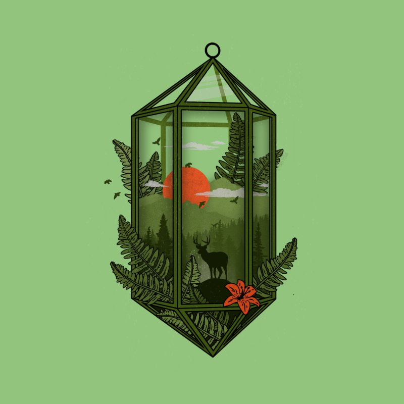 Terrarium None  by The Child's Artist Shop