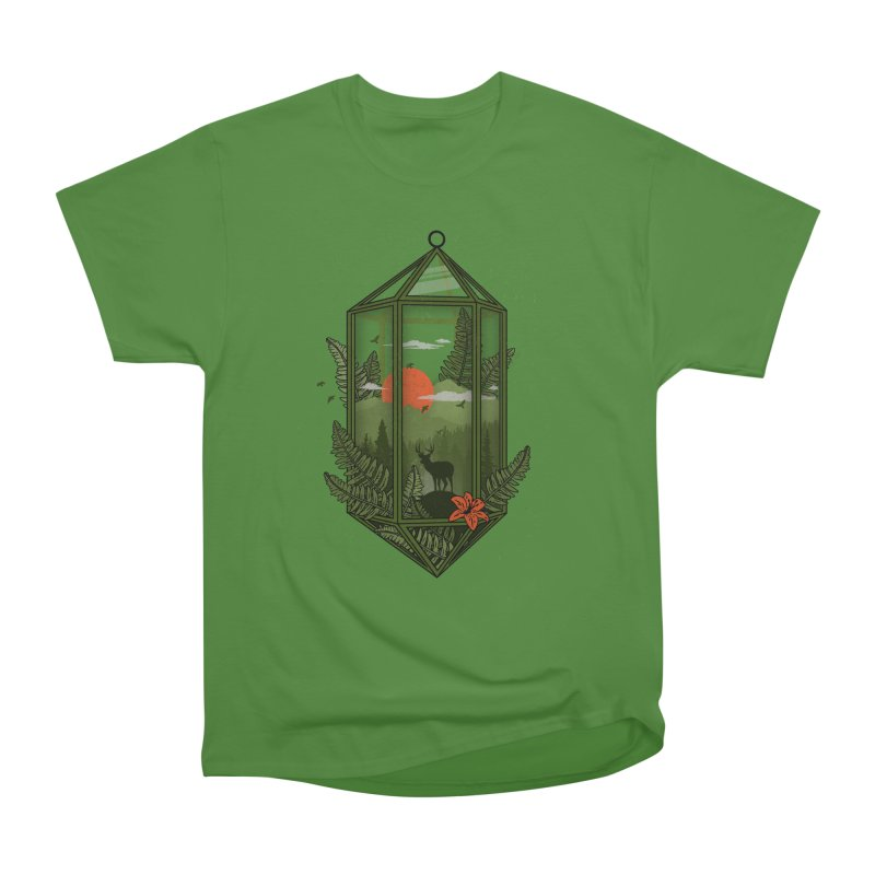 Terrarium Men's Classic T-Shirt by The Child's Artist Shop