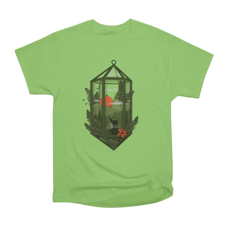 Terrarium Men's Heavyweight T-Shirt by The Child's Artist Shop