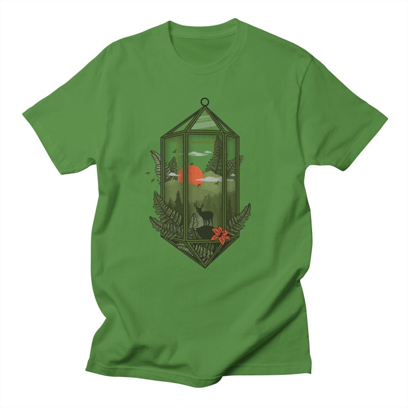 Terrarium Women's Unisex T-Shirt by The Child's Artist Shop