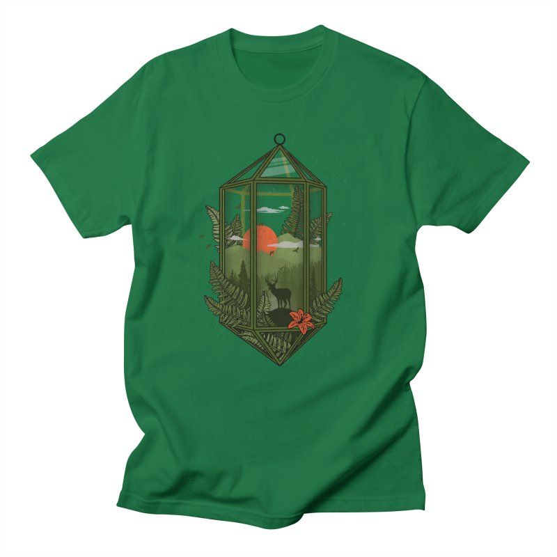 Terrarium Men's T-Shirt by The Child's Artist Shop