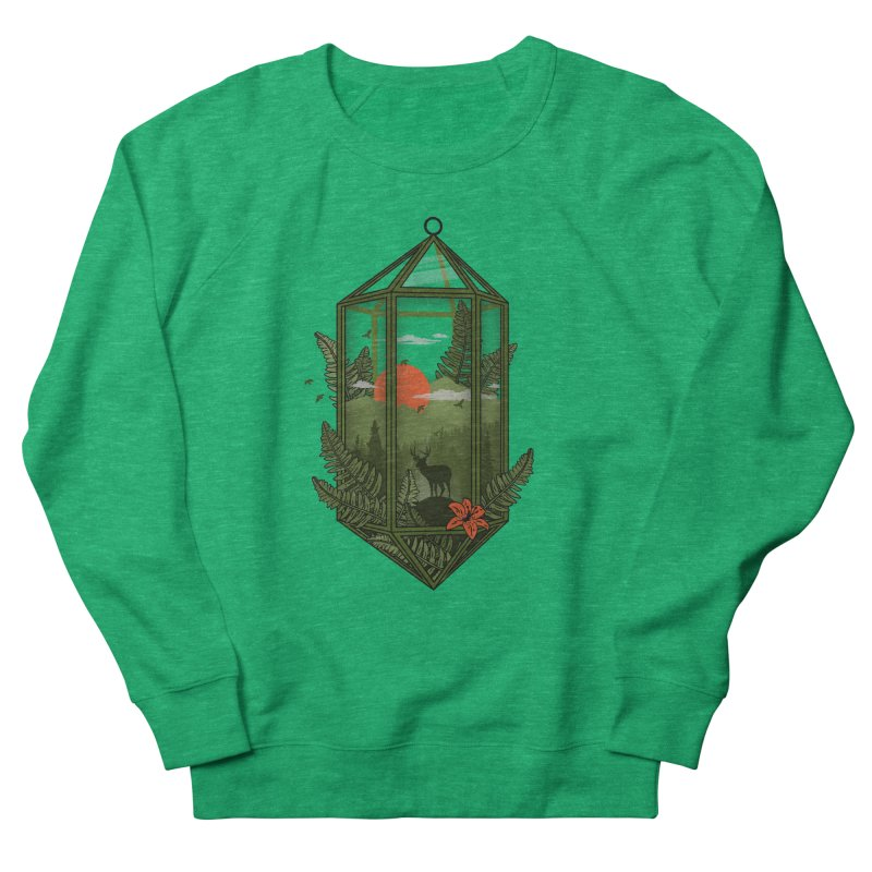 Terrarium Men's Sweatshirt by The Child's Artist Shop