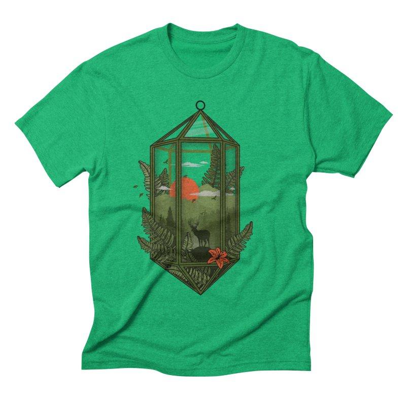 Terrarium Men's Triblend T-shirt by The Child's Artist Shop