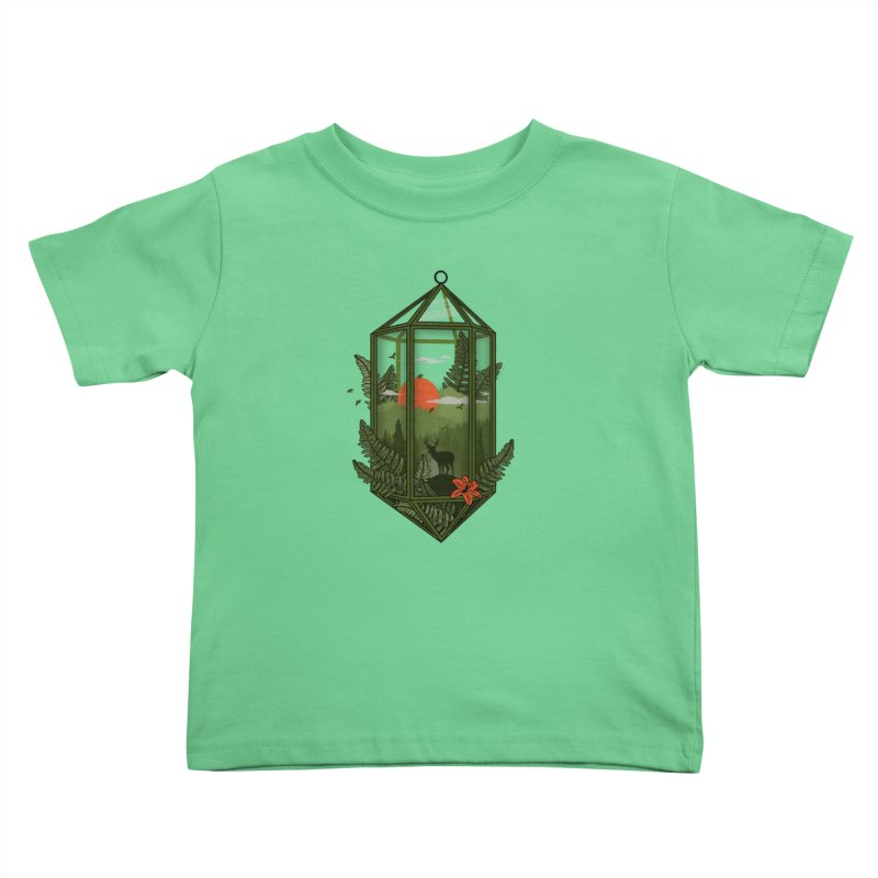 Terrarium Kids Toddler T-Shirt by The Child's Artist Shop