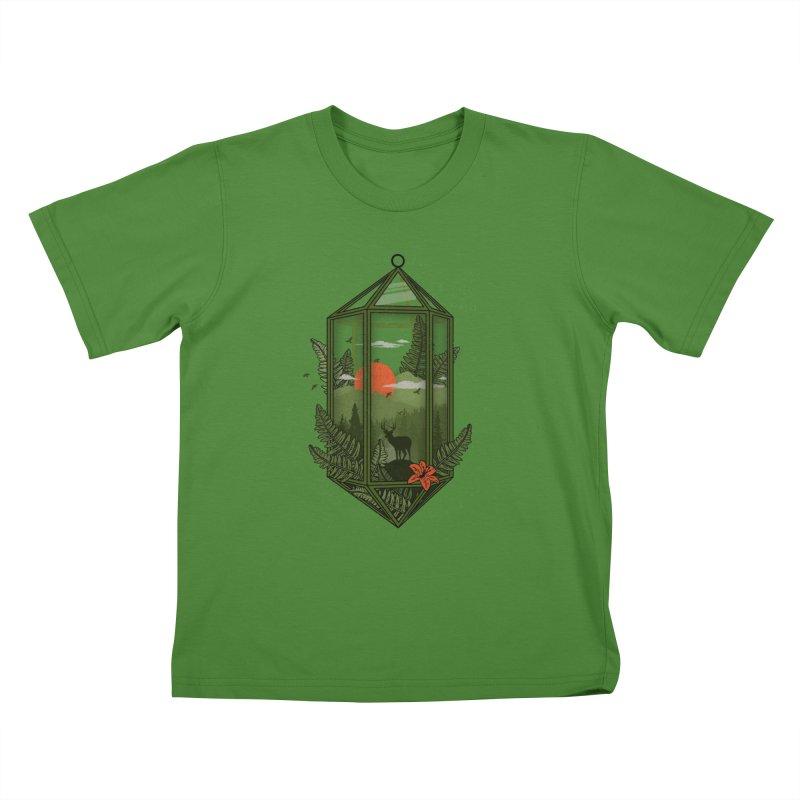 Terrarium Kids T-shirt by The Child's Artist Shop