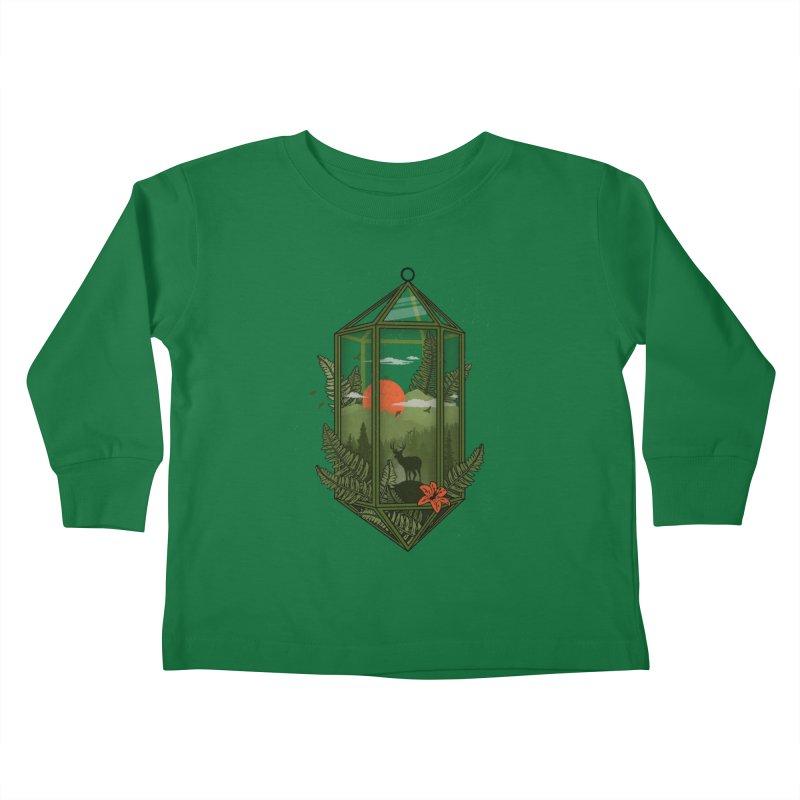 Terrarium Kids Toddler Longsleeve T-Shirt by The Child's Artist Shop