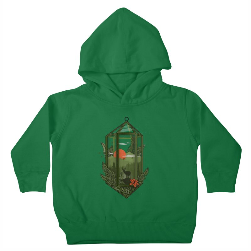 Terrarium Kids Toddler Pullover Hoody by The Child's Artist Shop