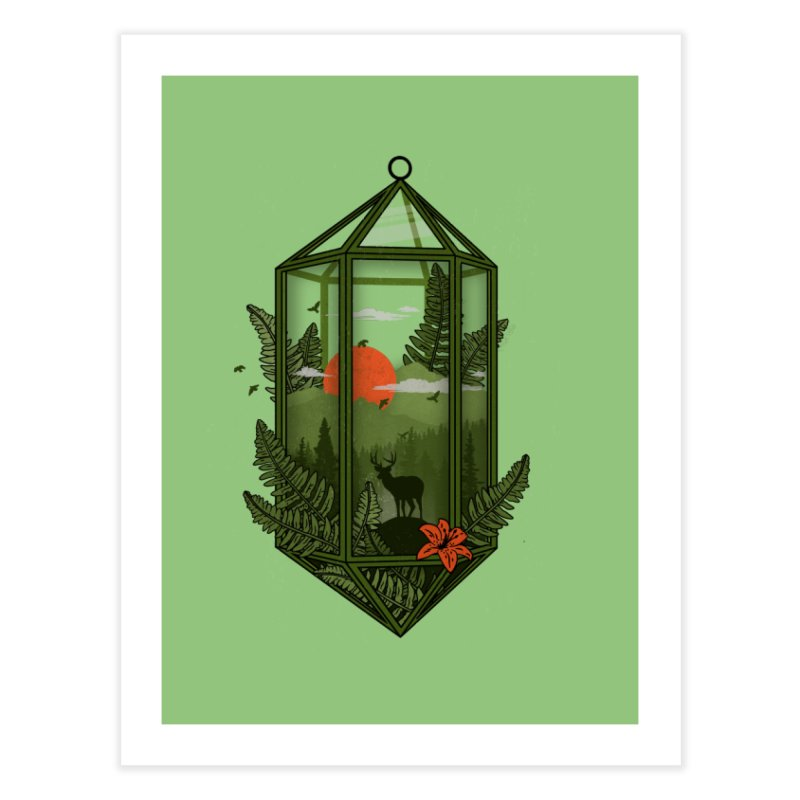 Terrarium Home Fine Art Print by The Child's Artist Shop