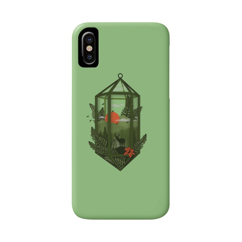 Terrarium Accessories Phone Case by The Child's Artist Shop