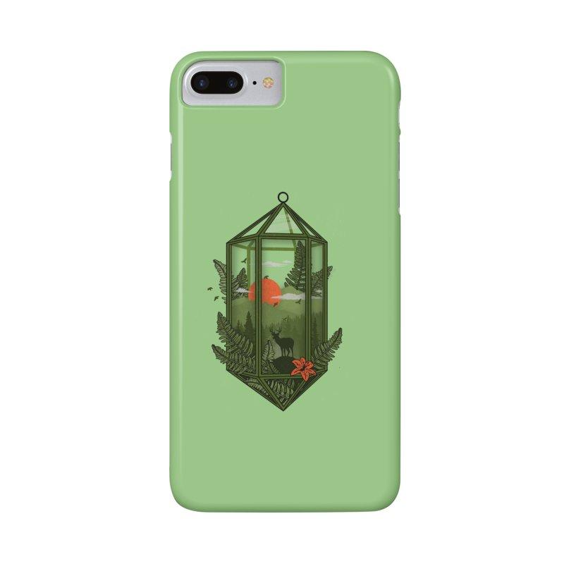 Terrarium Accessories Phone Case by The Child's Artist Shop
