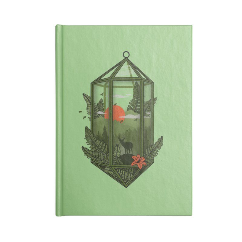 Terrarium Accessories Notebook by The Child's Artist Shop