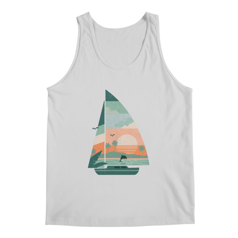 Set Sail Men's Regular Tank by The Child's Artist Shop