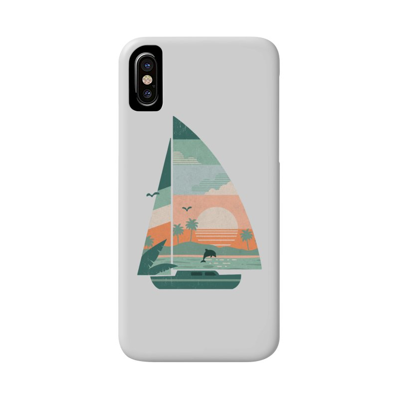Set Sail Accessories Phone Case by The Child's Artist Shop